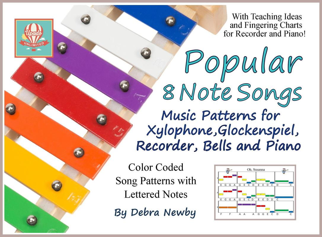 recorder piano song patterns